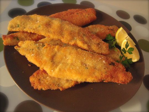 filetti di merluzzo impanati e fritti - ricette di cucina il cuore ... - Filetti Di Merluzzo Surgelati Come Cucinarli