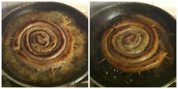 Salsiccia in padella ricette di cucina il cuore in pentola - Come cucinare salsiccia ...