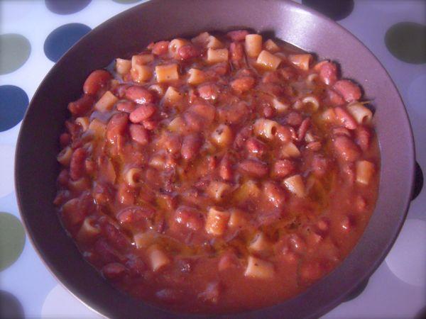 Ricette pasta e fagioli secchi