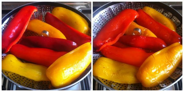 I peperoni come sbucciarli conservarli e come cucinarli - Cucinare i peperoni ...