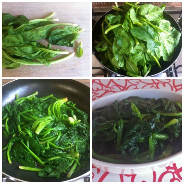 Come pulire gli spinaci pulire e cucinare gli spinaci for Cucinare spinaci