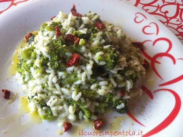 Ricetta Risotto Broccoli.Risotto Broccoli E Gorgonzola Il Cuore In Pentola