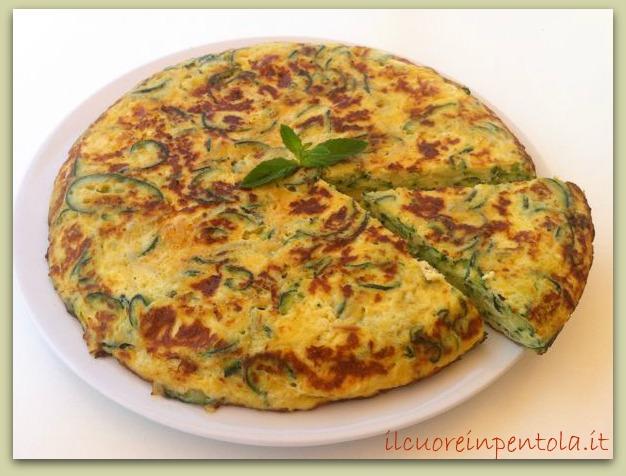 Frittata Di Zucchine Ricette Di Cucina Con Foto