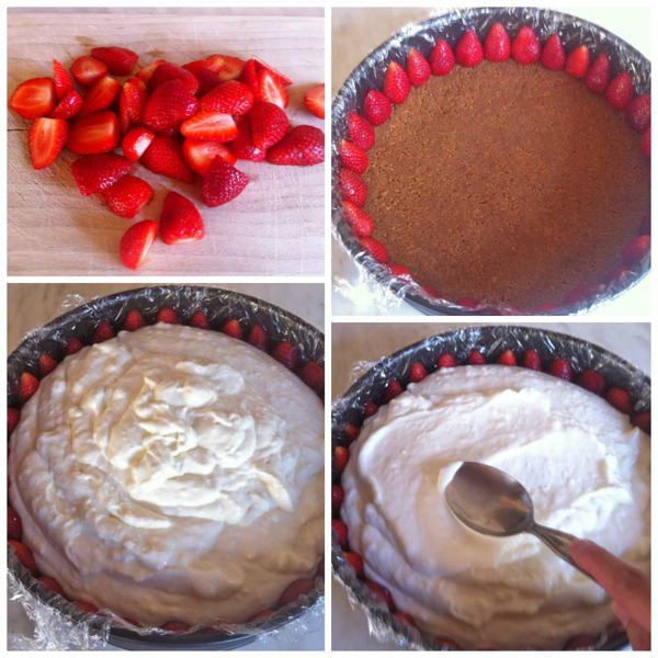 decorare cheesecake