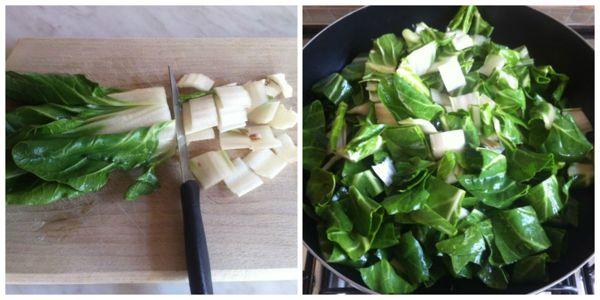 pasta bietole e ricotta - ricette di cucina il cuore in pentola - Cucinare Bieta