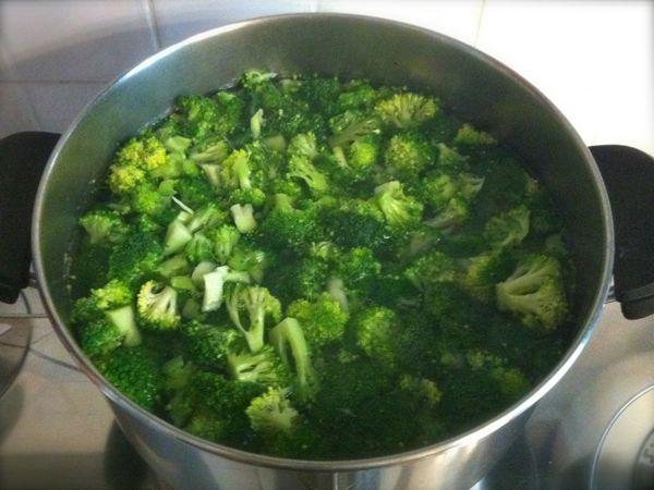 Minestra di broccoli ricetta con foto il cuore in pentola for Cucinare broccoli