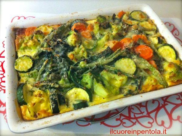sformato di verdure ricette di cucina il cuore in pentola