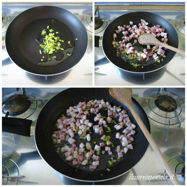 rosolare pancetta