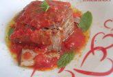 Tonno rosso con pomodoro e menta