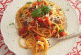Spaghetti ai 3 pomodori