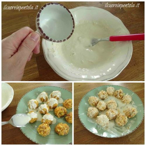 preparare pastella per arancinette