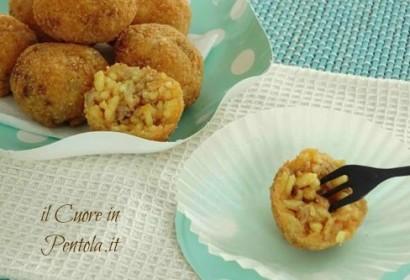 Arancinette siciliane