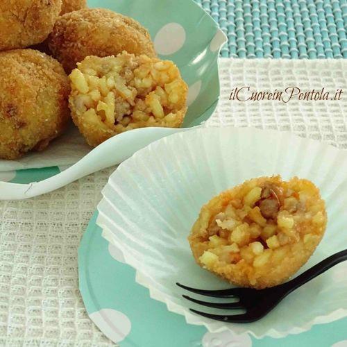arancinette siciliane ricetta