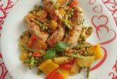 Salsiccia con verdure