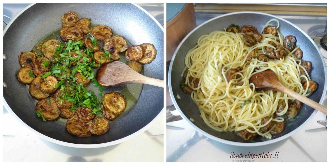 mantecare pasta con zucchine