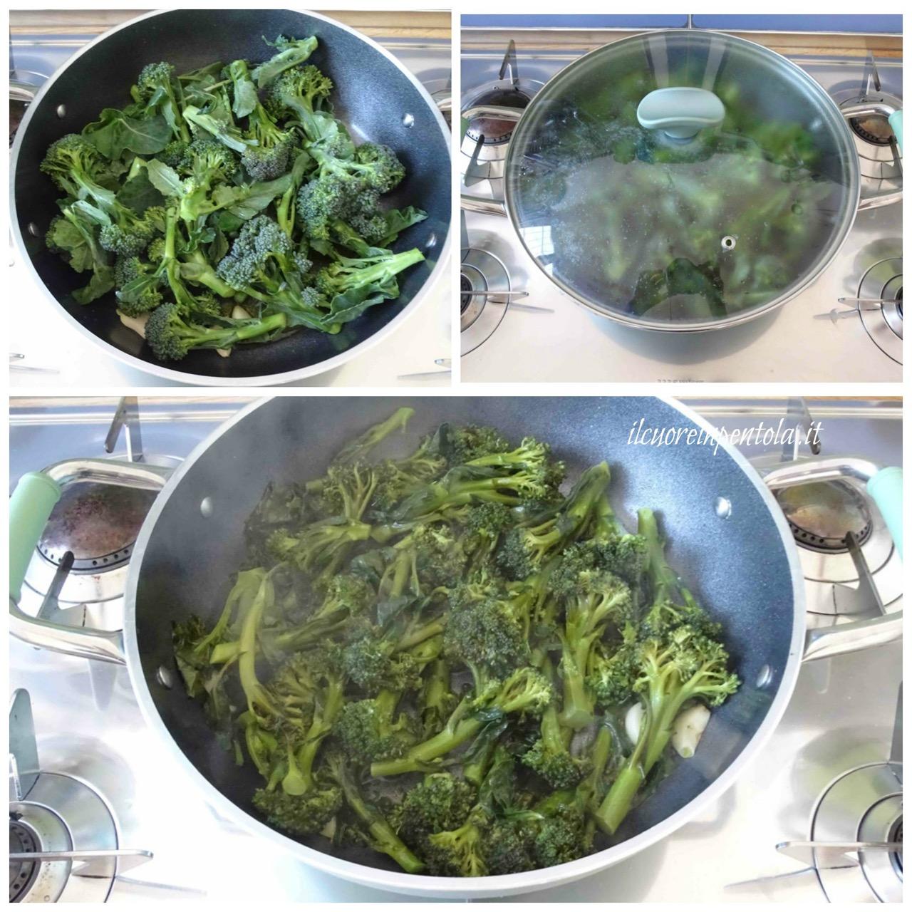 cuocere broccoli