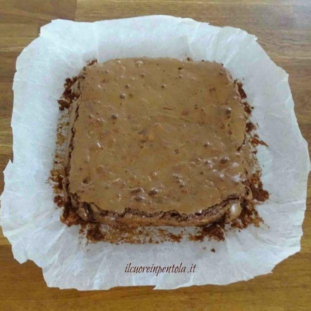 tagliare brownies