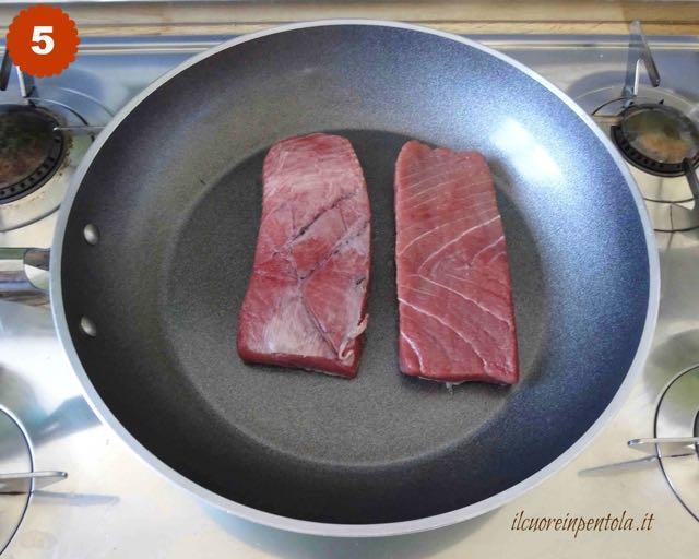 cuocere tonno