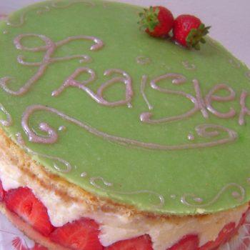 torta fraisier