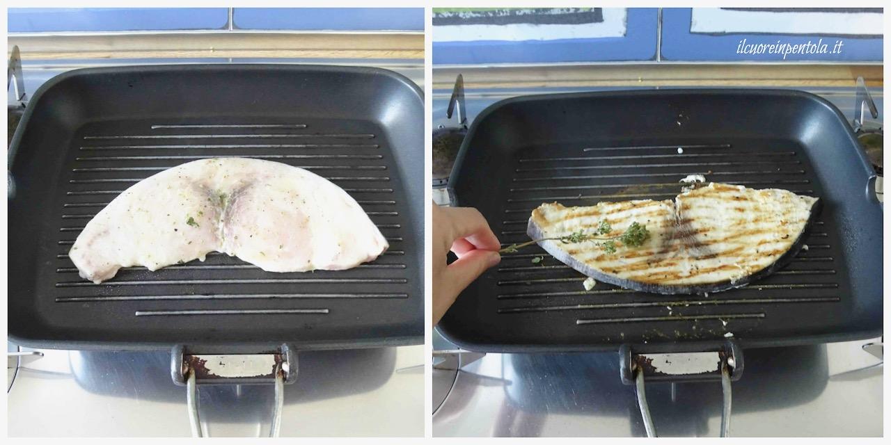 cottura pesce spada
