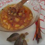 confettura di pere cannella e grani di pepe