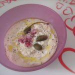 salsa allo yogurt con cipolle rosse