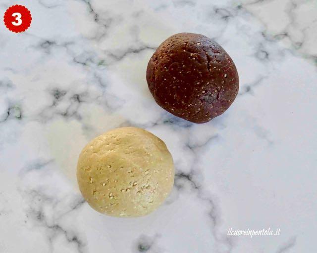 impasto per biscotti tetù