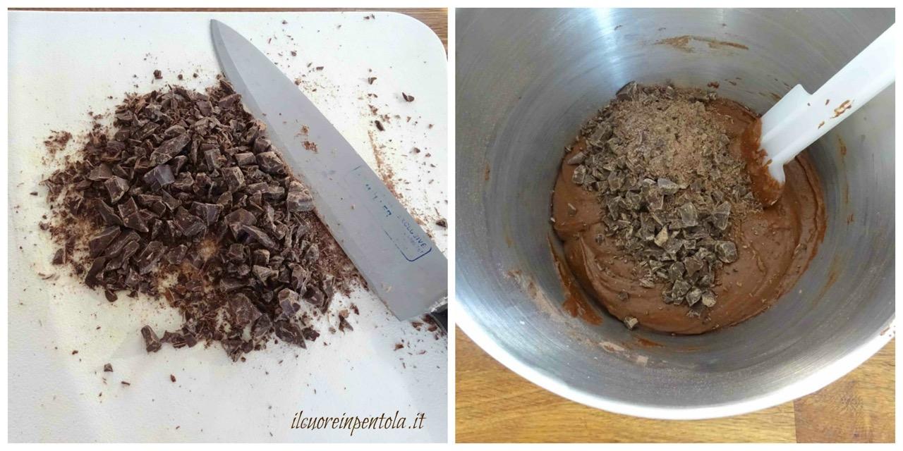 aggiungere cioccolato fondente