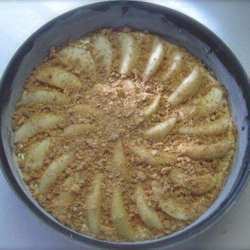 torta pere e amaretti