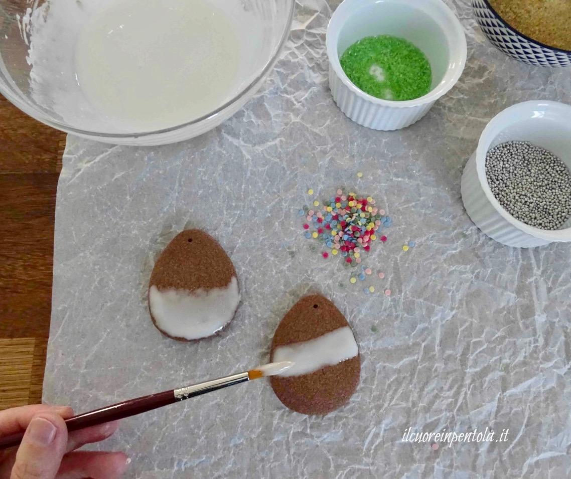 decorare i biscotti