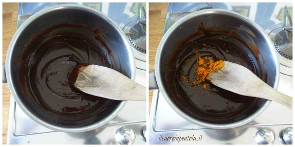 aggiungere scorza d'arancia