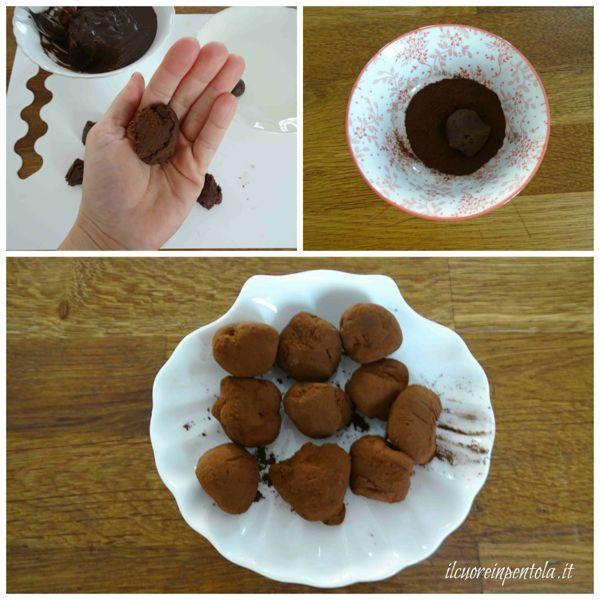 rotolare nel cacao