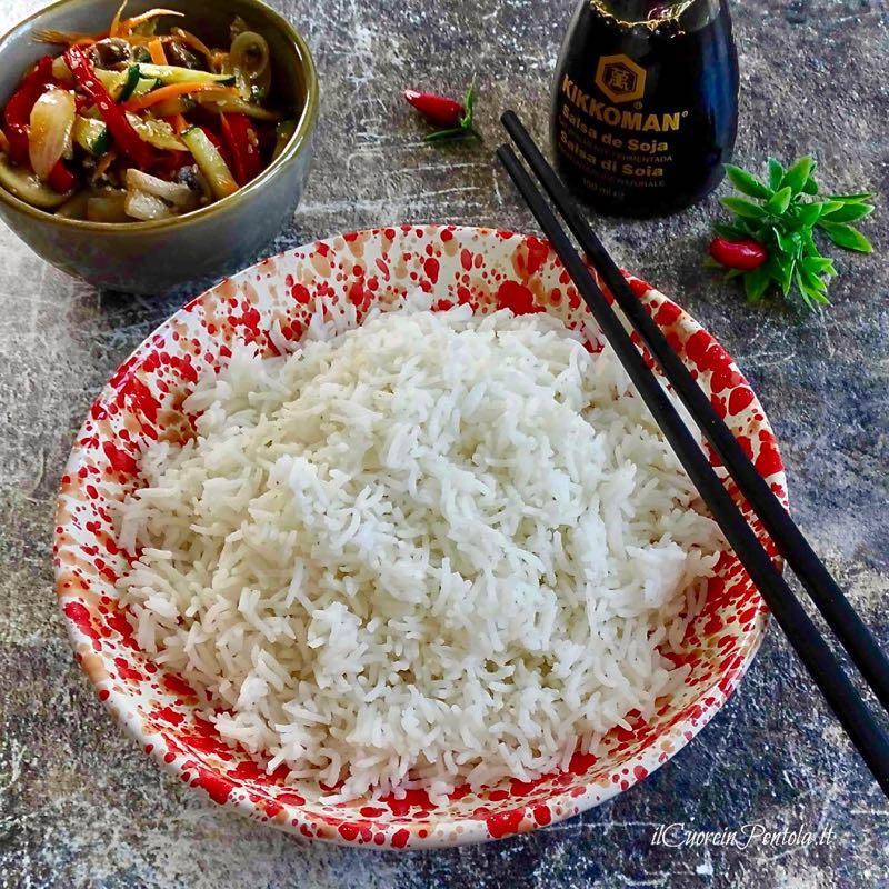 riso basmati cottura