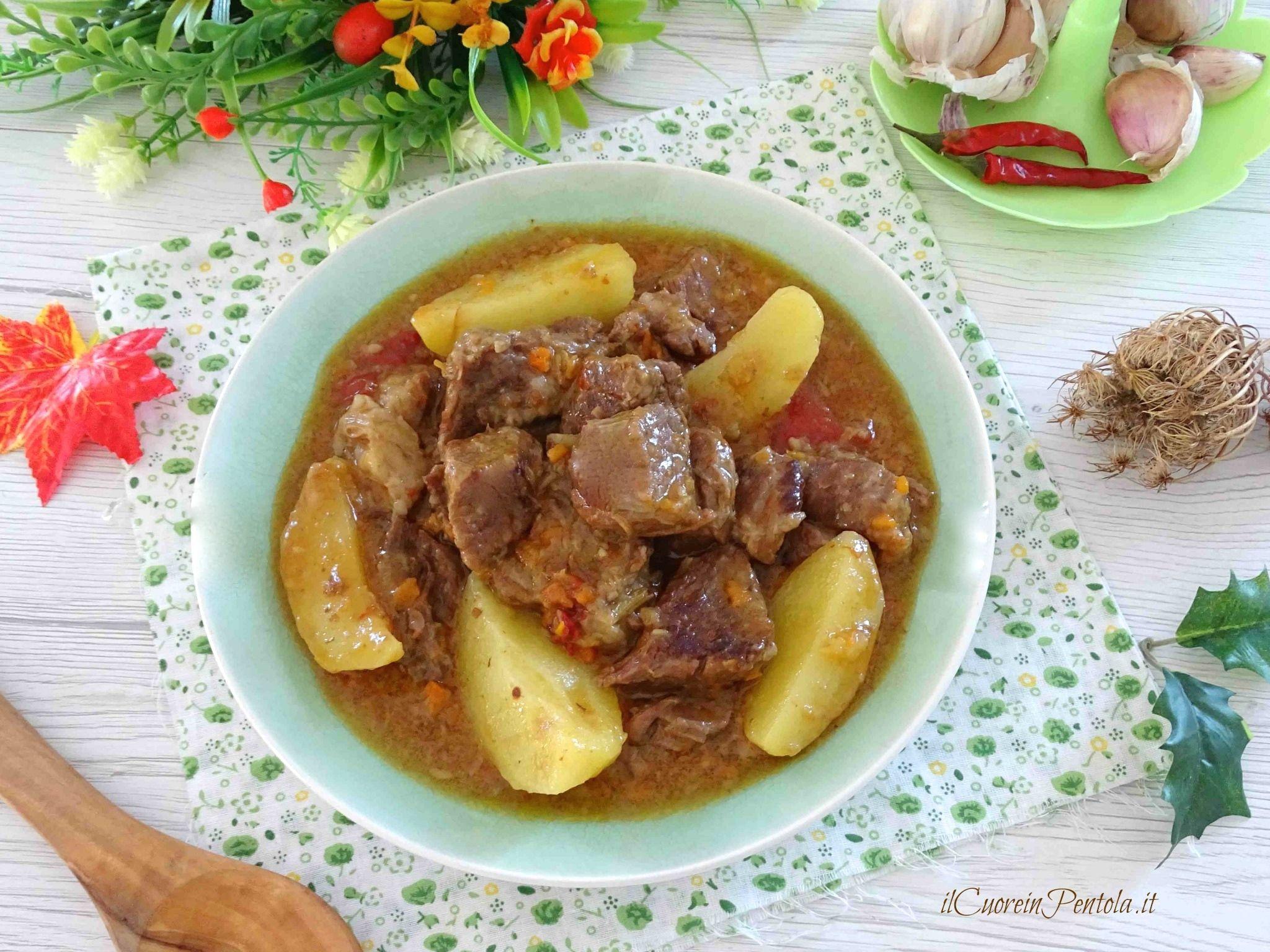 spezzatino con le patate