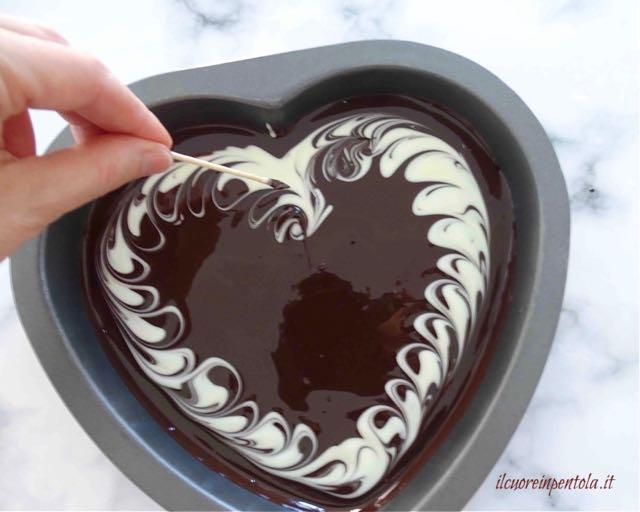 decorare cioccolato