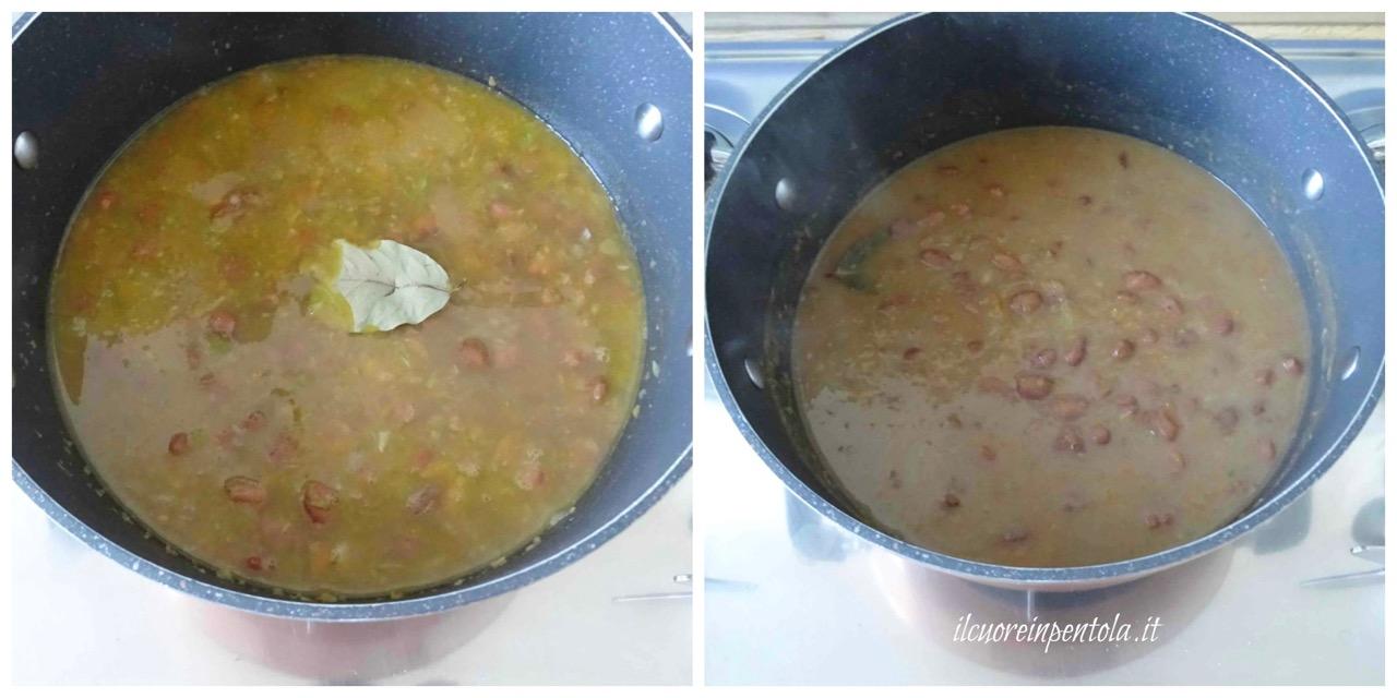 cuocere pasta e fagioli