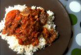 Stufato di manzo ghanese