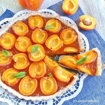 crostata di albicocche
