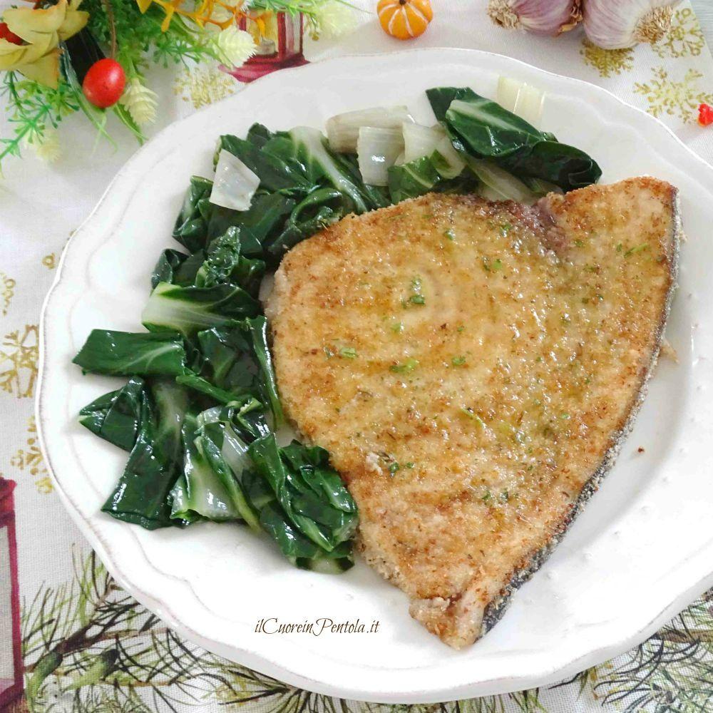 Pesce Spada Impanato Alla Siciliana Ricetta Il Cuore In Pentola