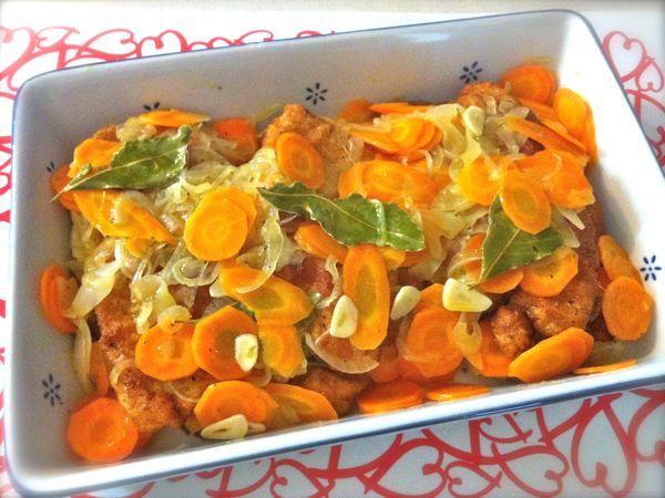 Petti Di Pollo In Carpione Ricette Di Cucina Il Cuore In Pentola
