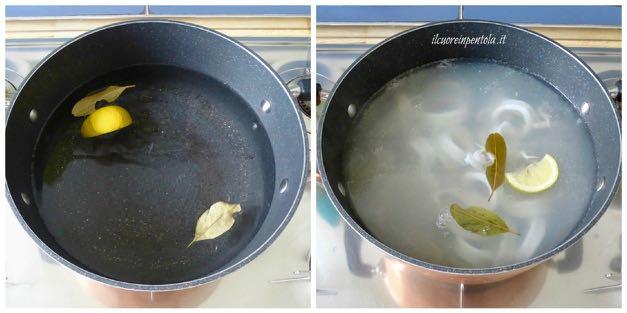 cuocere calamari