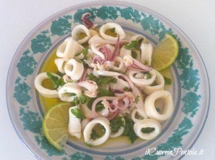 Insalata di calamari ricetta insalata di calamari il cuore in