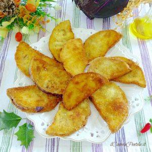 melanzane impanate e fritte
