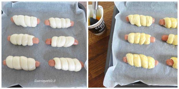 spennellare con uovo