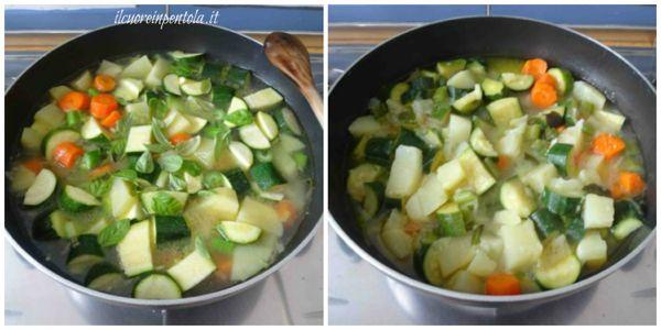 cuocere verdure