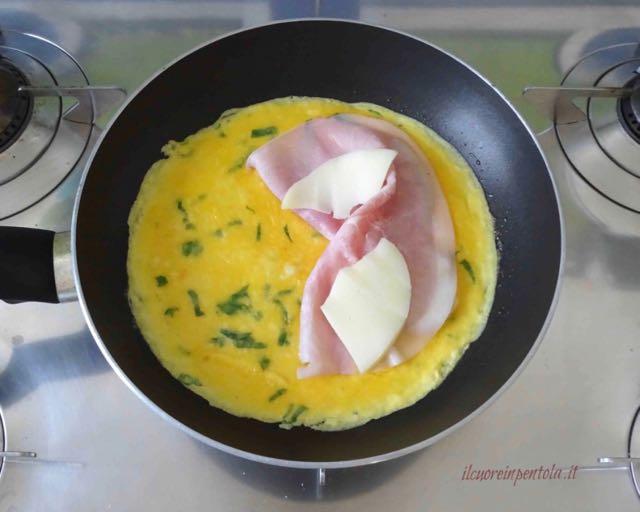 farcire omelette