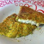 omelette di zucchine e ricotta