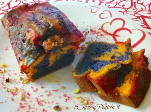 plumcake mostruoso di Halloween