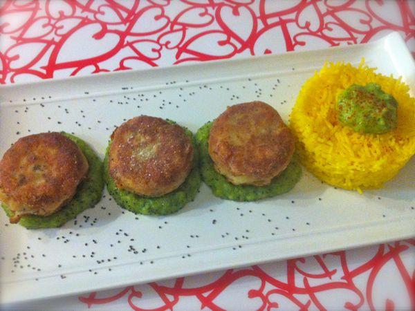 Polpette di merluzzo su purea di zucchine - Ricette di cucina Il Cuore in Pentola