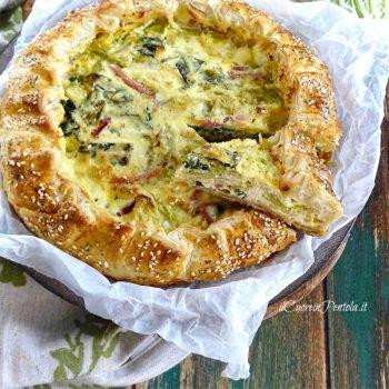 torta salata con verza